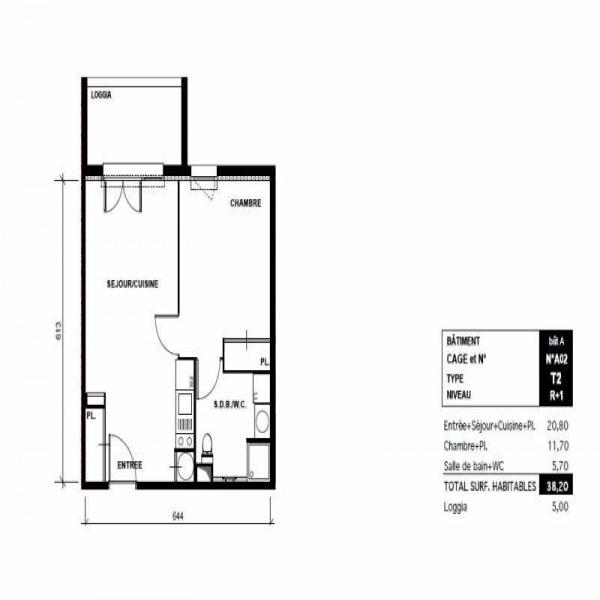 Offres de vente Appartement Toulouse 31500
